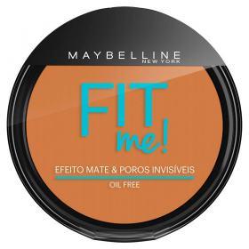 Fit Me! Maybelline - Pó Compacto para Peles Médias - 220 - Médio Pra Mim