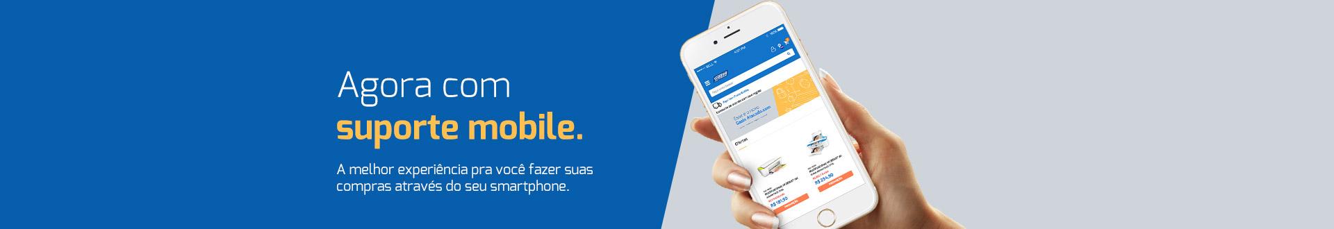 Novo site mobile