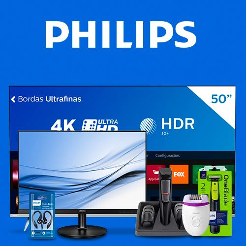 Logo da marca Produtos da Marca Philips