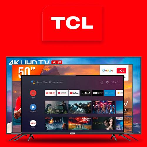 Logo da marca Produtos da Marca TCL