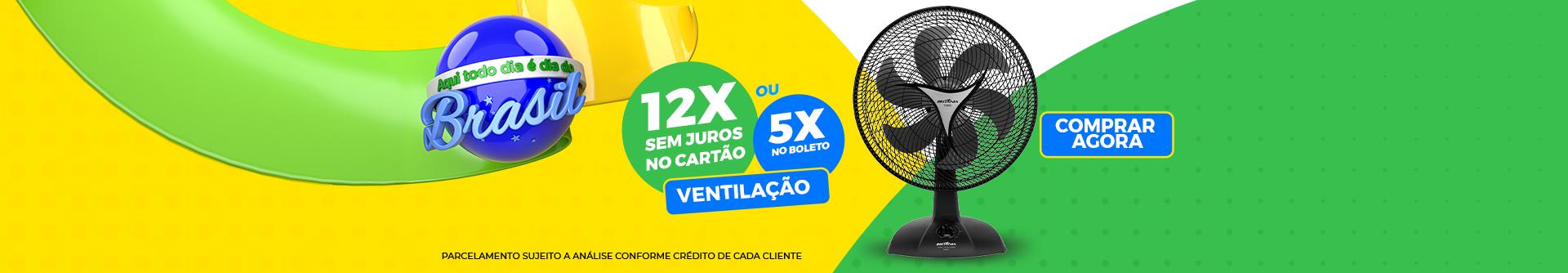 Todo dia é dia de Brasil - Ventilação