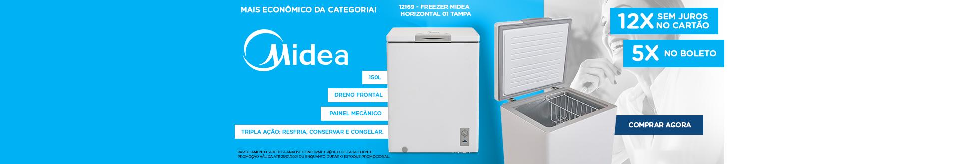 Oferta Especial Freezer Midea