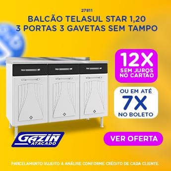 DIA D - BALCÃO TELASUL STAR