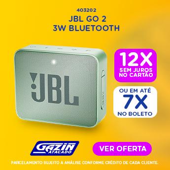 DIA D - CAIXA DE SOM GO2 JBL