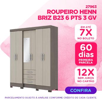 O melhor para Mamae - ROUPEIRO HENN BRIZ