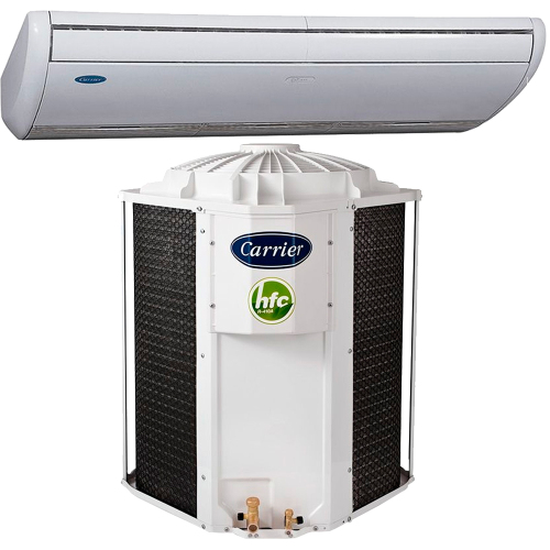 Foto - AR SPLIT 58.000 CARRIER P. TETO FRIO B GAS ECO