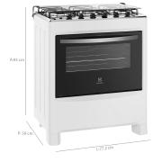 Miniatura - FOGAO 5B ELECTROLUX COM ACENDIMENTO