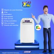 Miniatura - LAV 13KG ELECTROLUX CESTO INOX