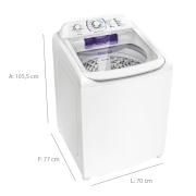 Miniatura - LAV 17KG ELECTROLUX CESTO INOX