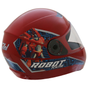 Miniatura - CAPACETE DE MOTO INFANTIL ROBOT 54