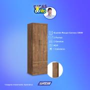 Miniatura - ROUPEIRO CARRARO 0599 2 PTS 2 GVS