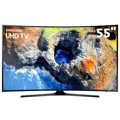 Foto - TV 55P SAMSUNG LED CURVA 4K SMART WIFI USB HDMI
