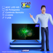 Miniatura - TV 32P AOC LED HD USB HDMI