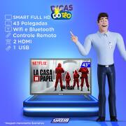 Miniatura - TV 43P SEMP LED SMART WIFI FULL HD USB (MH)