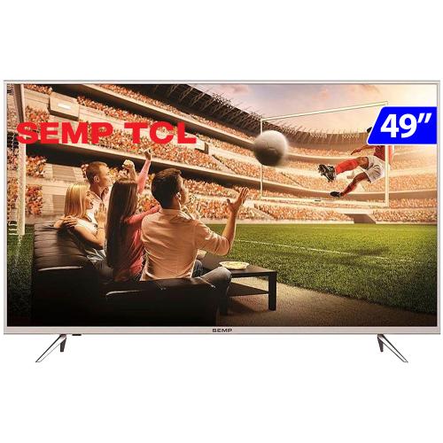Foto - TV 49P SEMP LED 4K SMART WIFI FULL HD USB