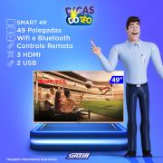 Miniatura - TV 49P SEMP LED 4K SMART WIFI FULL HD USB