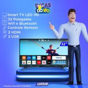 Miniatura - TV 32P PHILIPS LED SMART WIFI HD USB HDMI