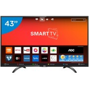 Foto de TV 43P AOC LED SMART WIFI FULL HD USB HDMI