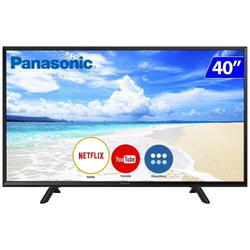 Foto - TV 40P PANASONIC LED SMART FULL HD HDMI USB