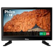 Foto de TV 16P PHILCO LED HD USB C/ ENTRADA 12V