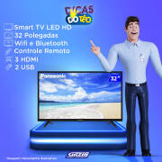 Miniatura - TV 32P PANASONIC LED SMART WIFI HD USB HDMI