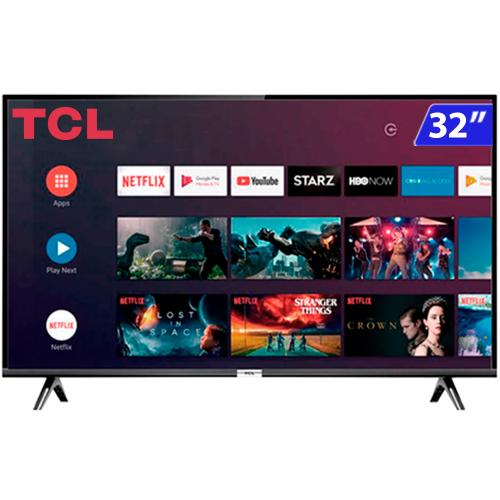 Foto - TV 32P TCL LED SMART WIFI HD COMANDO DE VOZ (MH)