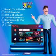 Miniatura - TV 32P TCL LED SMART WIFI HD COMANDO DE VOZ (MH)