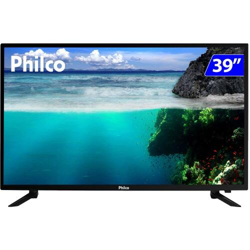 Foto - TV 39P PHILCO LED HD USB HDMI