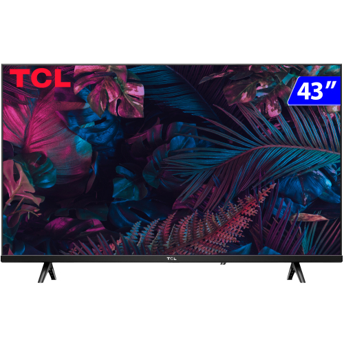 Foto - TV 43P TCL LED SMART FULL HD COMANDO VOZ (MH)