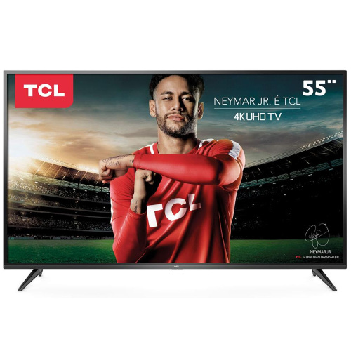Foto - TV 55P TCL LED SMART 4K WIFI USB HDMI (MH)