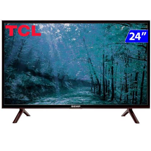 Foto - TV 24P SEMP LED HD USB HDMI