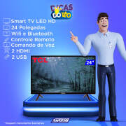 Miniatura - TV 24P SEMP LED HD USB HDMI (MH)