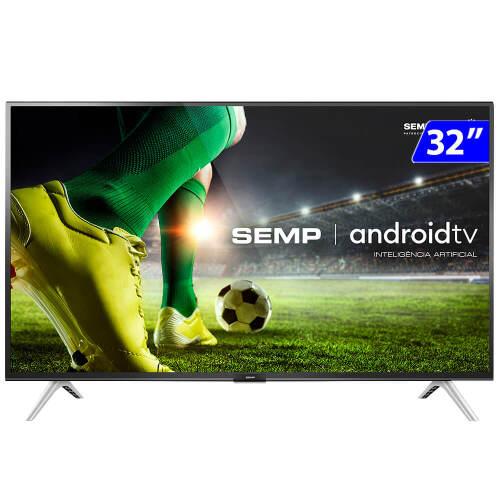 Foto - TV 32P SEMP LED SMART WIFI HD USB HDMI COMANDO DE VOZ (MH)