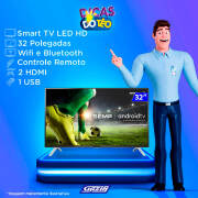 Miniatura - TV 32P SEMP LED SMART WIFI HD USB HDMI COMANDO DE VOZ (MH)