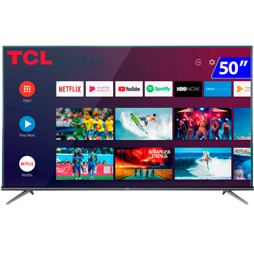 Foto - TV 50P TCL LED SMART 4K COMANDO DE VOZ