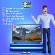 Miniatura - TV 32P LG LED SMART WIFI HD USB HDMI