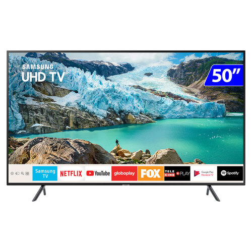 Foto - TV 50P SAMSUNG LED SMART 4K WIFI USB HDMI