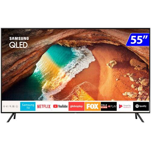 Foto - TV 55P SAMSUNG QLED SMART WIFI 4K USB HDMI