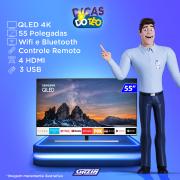 Miniatura - TV 55P SAMSUNG QLED SMART 4K USB HDMI
