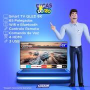Miniatura - TV 65P SAMSUNG QLED 8K SMART WIFI USB HDMI
