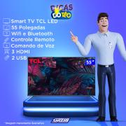 Miniatura - TV 55P TCL LED SMART 4K WIFI COMANDO VOZ