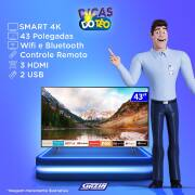Miniatura - TV 43P SAMSUNG LED SMART 4K WIFI USB HDMI