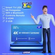 Miniatura - TV 58P SAMSUNG LED SMART 4K WIFI USB HDMI