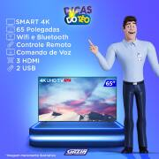 Miniatura - TV 65P TCL LED SMART 4K WIFI COMANDO VOZ