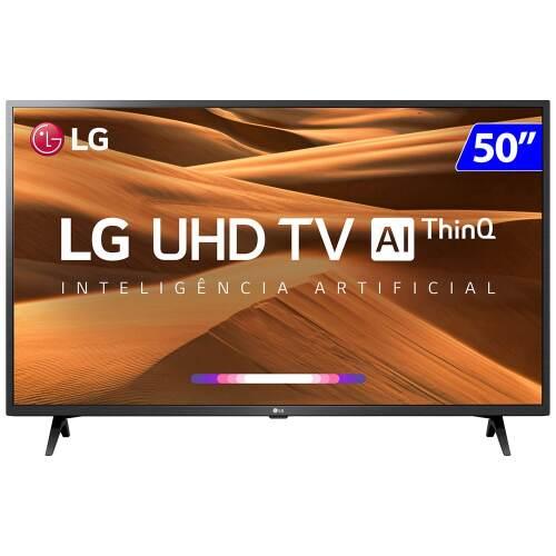 Foto - TV 50P LG LED SMART 4K USB HDMI COMANDO DE VOZ