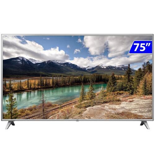 Foto - TV 75P LG LED SMART 4K WIFI USB HDMI COMANDO VOZ
