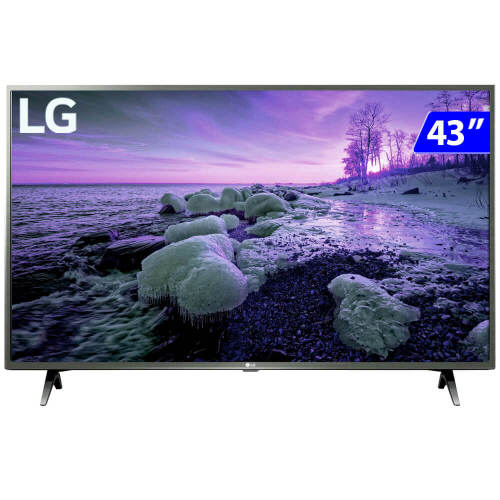 Foto - TV 43P LG LED SMART WIFI HD USB HDMI