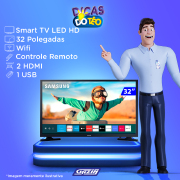 Miniatura - TV 32P SAMSUNG LED SMART TIZEN WIFI HD