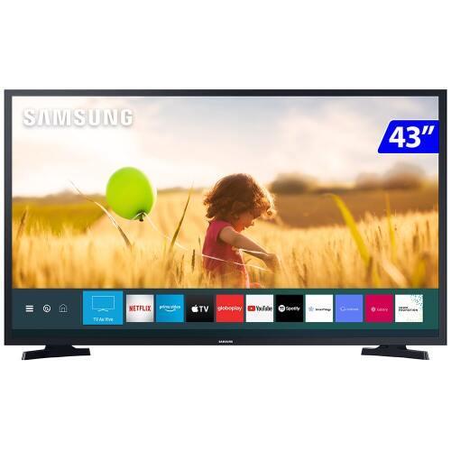 Foto - TV 43P SAMSUNG LED SMART TIZEN WIFI FULL HD