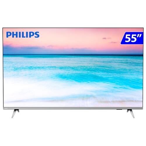 Foto - TV 55P PHILIPS LED SMART 4K WIFI USB HDMI